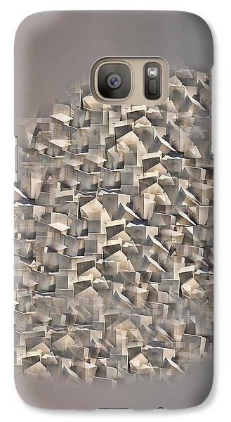 Galaxy Case featuring the photograph Cubism by Angel Jesus De la Fuente