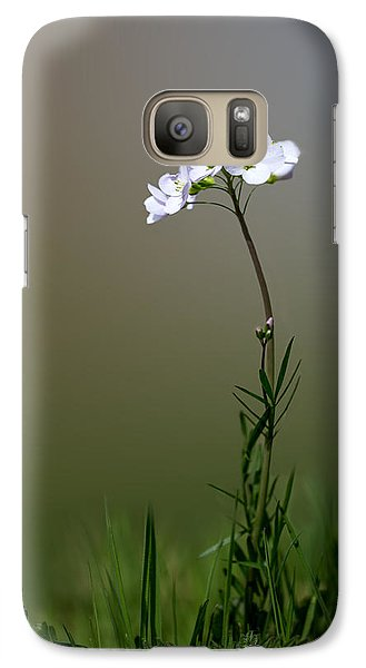 Cuckoo Flower Galaxy S7 Case by Ian Hufton