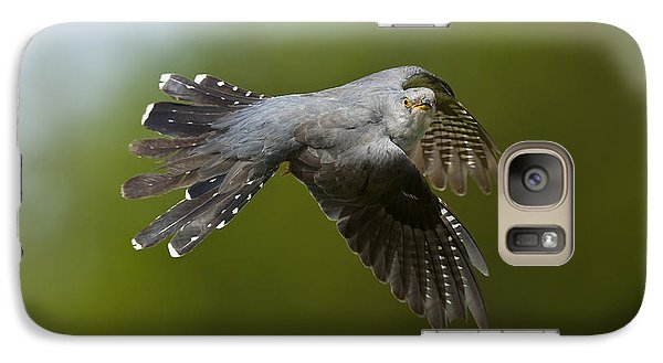 Cuckoo Flying Galaxy S7 Case by Steen Drozd Lund