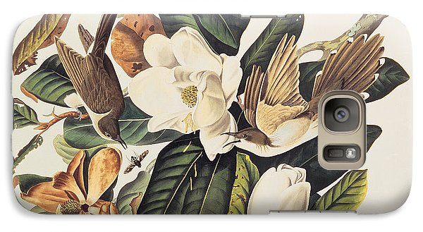 Cuckoo On Magnolia Grandiflora Galaxy S7 Case by John James Audubon