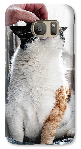 Galaxy Case featuring the photograph Cuddles by Laura Melis
