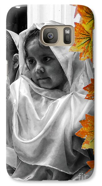 Galaxy Case featuring the photograph Cuenca Kids 885 by Al Bourassa