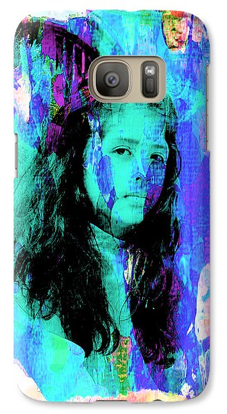 Galaxy Case featuring the photograph Cuenca Kids 892 by Al Bourassa