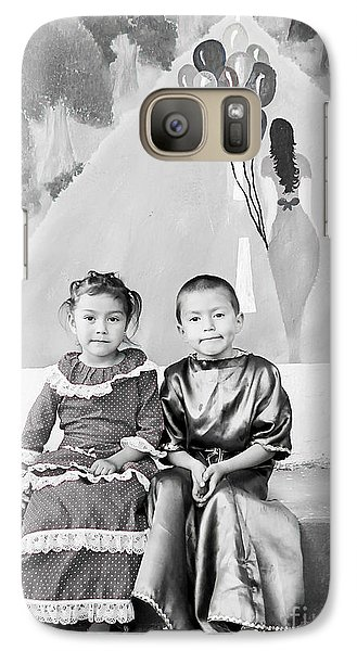 Galaxy Case featuring the photograph Cuenca Kids 896 by Al Bourassa