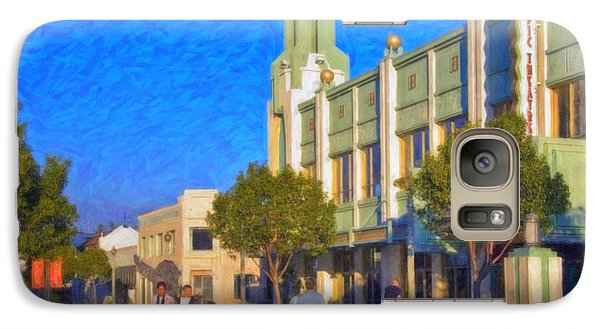 Galaxy Case featuring the photograph Culver City Plaza Theaters   by David Zanzinger