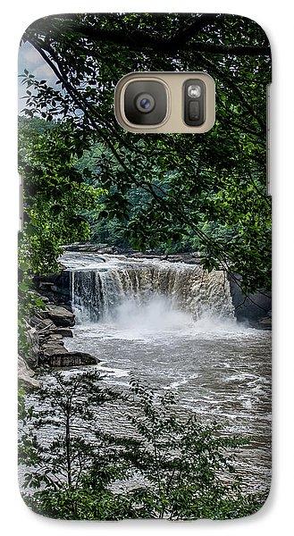 Galaxy Case featuring the photograph Cumberland Falls by Joann Copeland-Paul