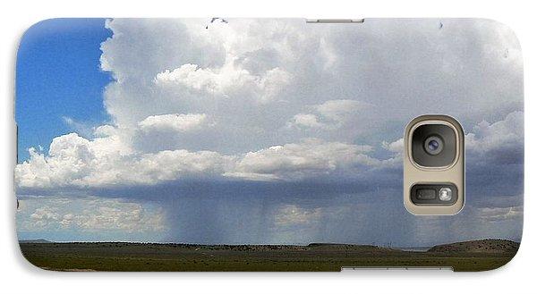Galaxy Case featuring the photograph Cumulonimbus Rain Cloud by Deborah Moen