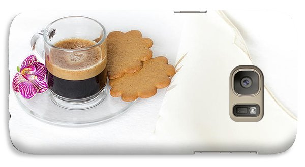 Galaxy Case featuring the photograph Cup Of Espresso by Yelena Rozov