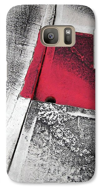 Galaxy Case featuring the photograph Curbs At The Canadian Formula 1 Grand Prix by Juergen Weiss