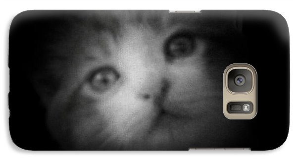 Galaxy Case featuring the photograph Curiosity by Betty Northcutt