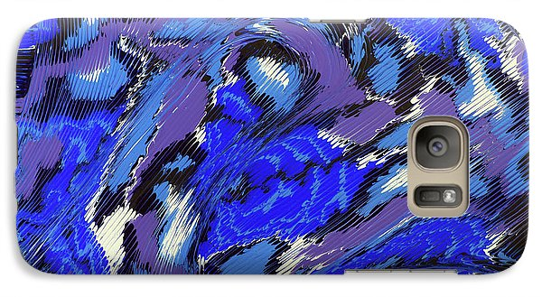 Galaxy Case featuring the painting Currents And Tides  by Cathy Beharriell