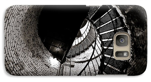Galaxy Case featuring the photograph Currituck Spiral II by David Sutton