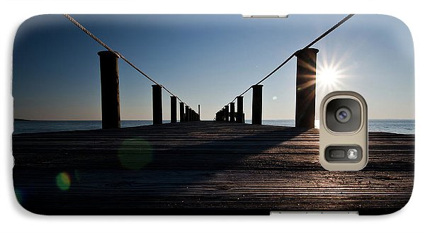 Galaxy Case featuring the photograph Currituck Sunset by David Sutton