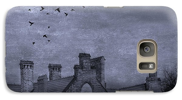 Galaxy Case featuring the photograph Curse Of Manor House by Juli Scalzi