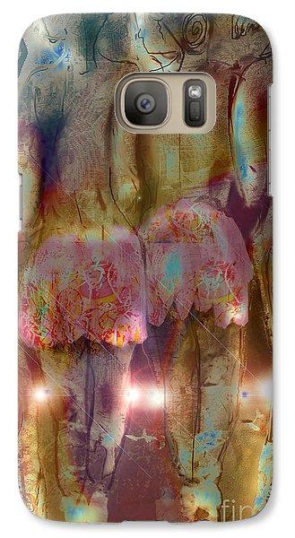Galaxy Case featuring the digital art Curtain Call by Gabrielle Schertz