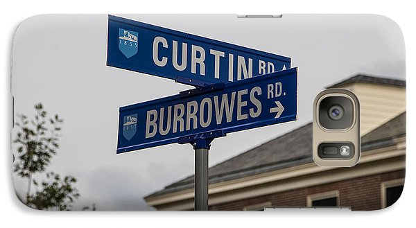 Curtin And Burrowes Penn State  Galaxy Case by John McGraw