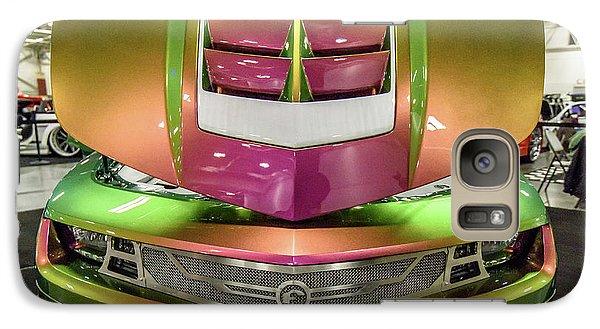 Galaxy S7 Case featuring the photograph Custom Camaro by Randy Scherkenbach