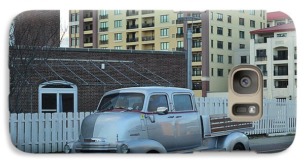 Galaxy Case featuring the photograph Custom Chevy Asbury Park Nj by Terry DeLuco