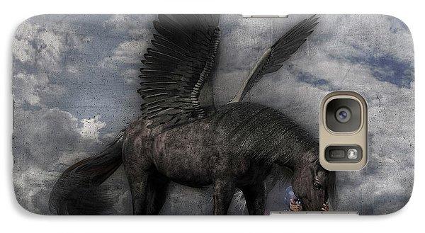 Pegasus Galaxy S7 Case - Custom Knapp 322 by Betsy Knapp