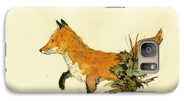 Cute Fox In The Forest Galaxy S7 Case