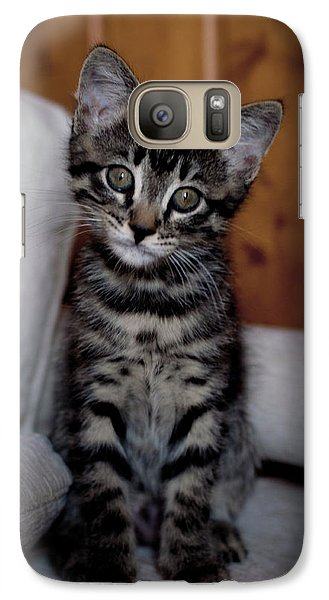 Galaxy Case featuring the photograph Cute by Laura Melis