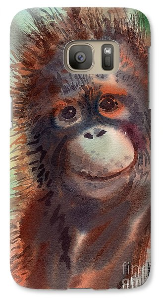 Orangutan Galaxy S7 Case - My Precious by Donald Maier
