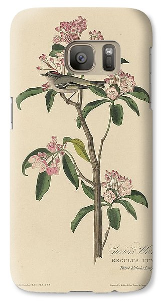 Cuvier's Wren Galaxy S7 Case by Dreyer Wildlife Print Collections