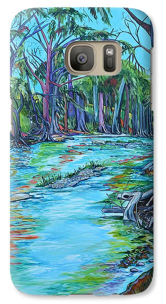 Galaxy Case featuring the painting Cw Ranch by Patti Schermerhorn