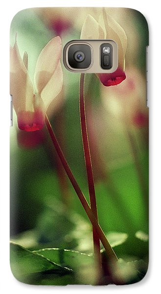 Cyclamens Galaxy S7 Case