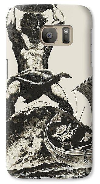 Cyclops Galaxy S7 Case by Angus McBride