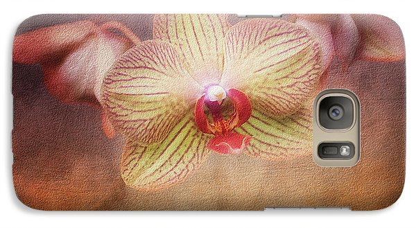 Cymbidium Orchid Galaxy S7 Case by Tom Mc Nemar