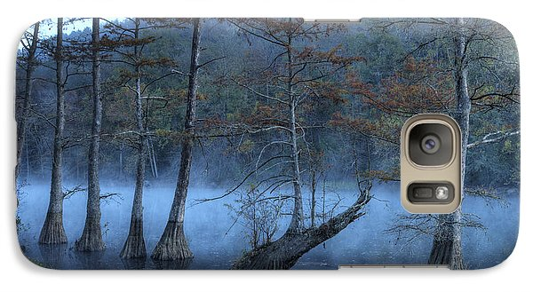Galaxy Case featuring the photograph Cypress Awakening by Tamyra Ayles