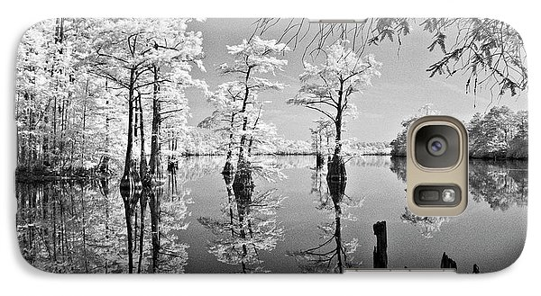 Galaxy Case featuring the photograph Cypress In Walkers Mill Pond by Bob Decker