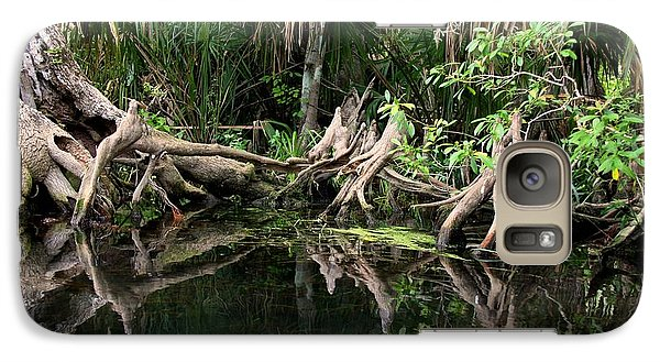 Galaxy Case featuring the photograph Cypress Swamp  by Barbara Bowen