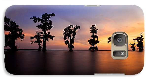 Galaxy Case featuring the photograph Cypress Trees by Evgeny Vasenev