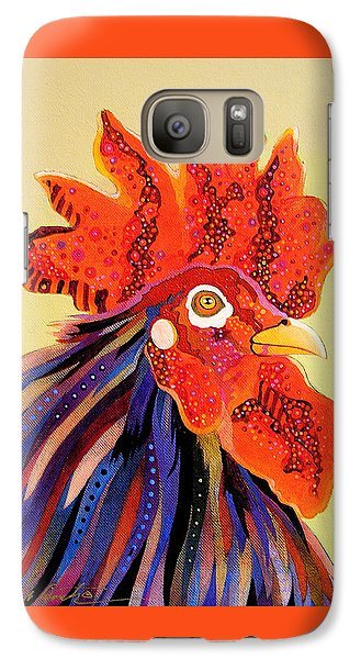Galaxy Case featuring the painting Dadoodle by Bob Coonts