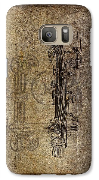Dads Clarinet Galaxy S7 Case