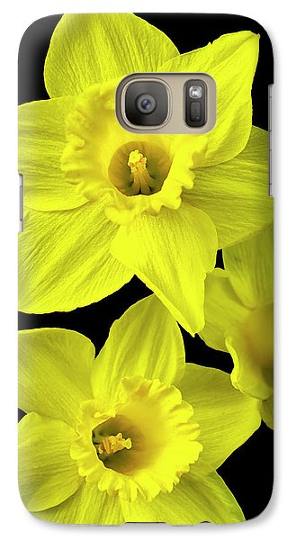 Galaxy S7 Case featuring the photograph Daffodils by Christina Rollo
