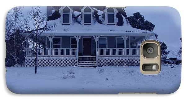 Galaxy Case featuring the photograph Dahl House by Gene Gregory