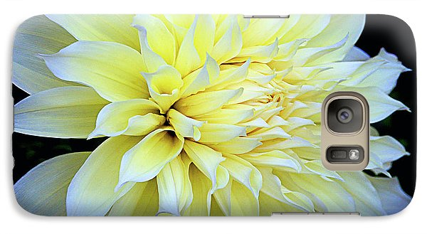 Galaxy Case featuring the photograph Dahlia Kelvin Floodlight by Julie Palencia