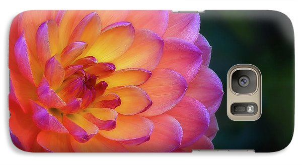 Dahlia Portrait Galaxy S7 Case