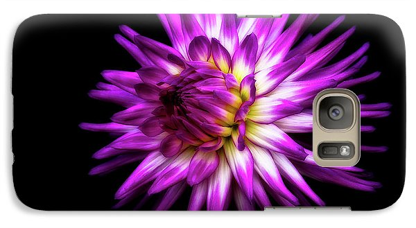 Dahlia Starburst Galaxy S7 Case