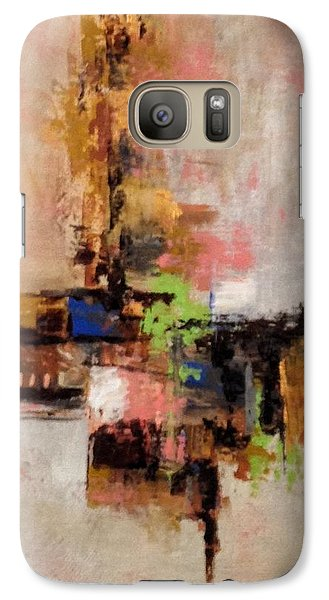 Galaxy Case featuring the painting Daily #5 by Suzzanna Frank