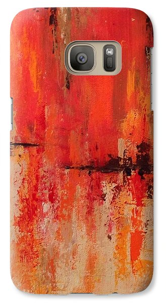 Galaxy Case featuring the painting Daily  by Suzzanna Frank