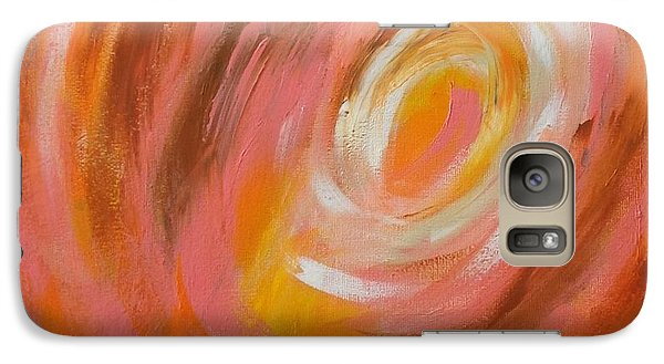 Galaxy Case featuring the painting Daily#3 by Suzzanna Frank