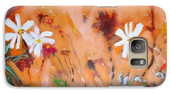 Daisies Along The Fence Galaxy S7 Case
