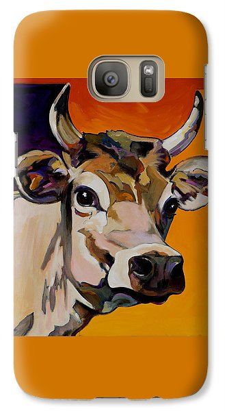 Galaxy Case featuring the painting Daisy by Bob Coonts