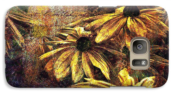 Galaxy Case featuring the digital art Daisy Daze by Kari Nanstad