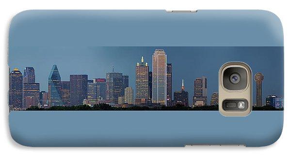Galaxy Case featuring the photograph Dallas At Night by Jonathan Davison