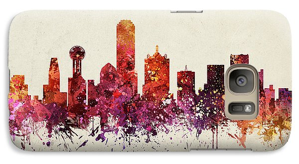 Dallas Cityscape 09 Galaxy S7 Case by Aged Pixel